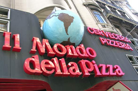 Mundo de la pizza fotos de montevideo archivo wu 155 for Mundo pizza la algaba