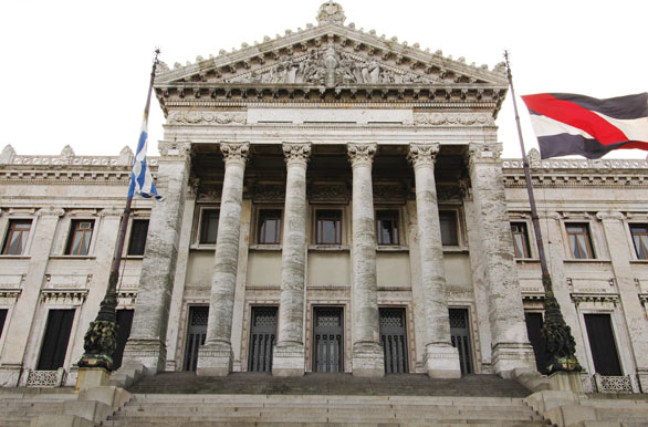 El Palacio Legislativo - Montevideo