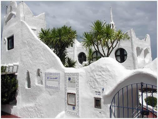 Casapueblo, Punta del Este, el museo-taller de Carlos Páez Vilaró