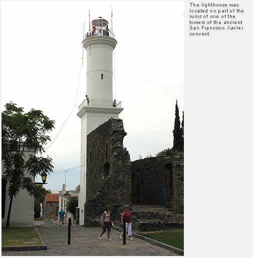 Visit to the Colonia del Sacramento Lighthouse