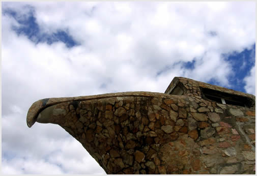 The Eagle Monument in Atlántida