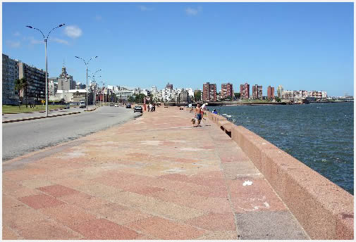 Montevideo Waterfront Promenade